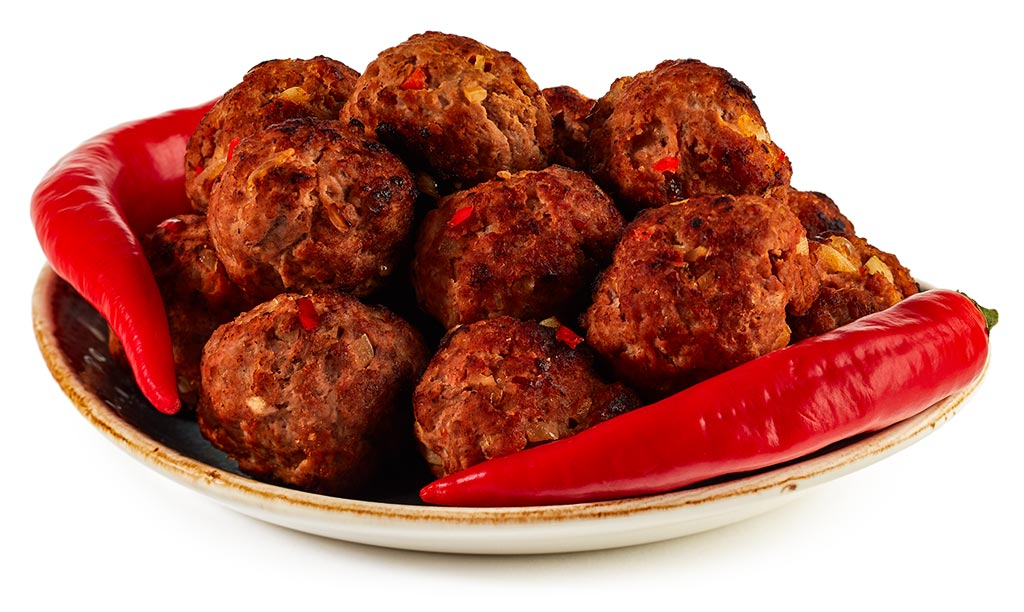Albondigas with Chili