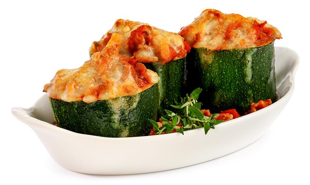 Rezept zucchini und hack