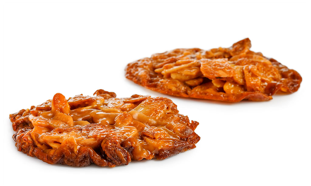 Almond brittle biscuits