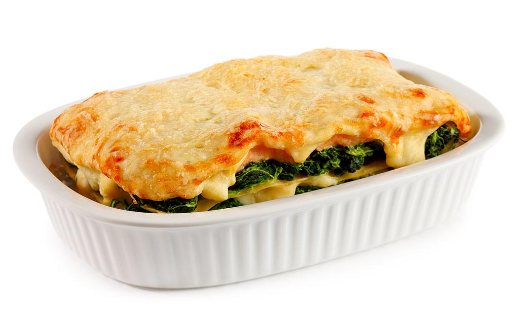 rezept drucken lachs lasagne mit spinat. Black Bedroom Furniture Sets. Home Design Ideas