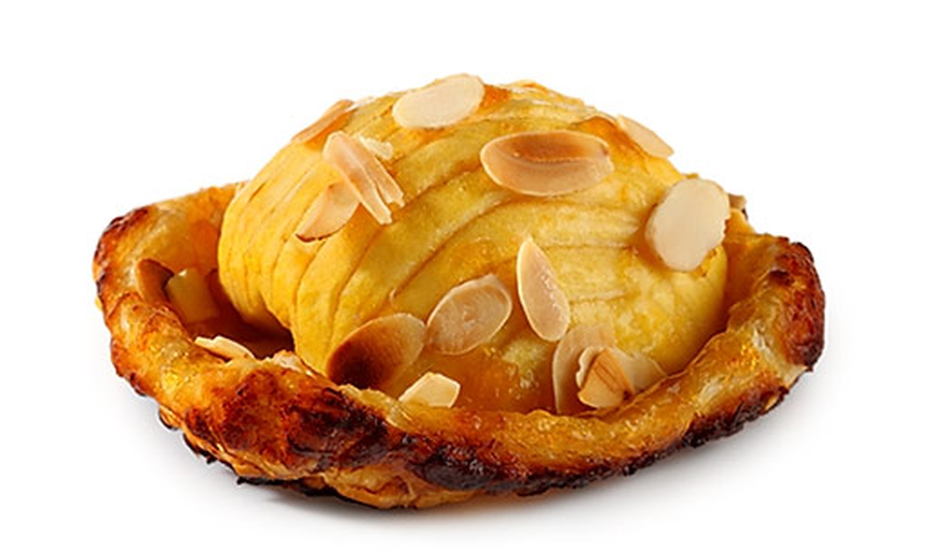 Swiss apple tartlets