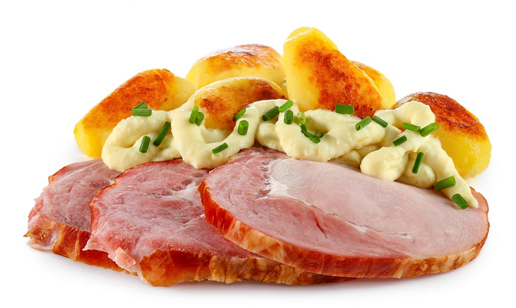 Cassler with Remoulade