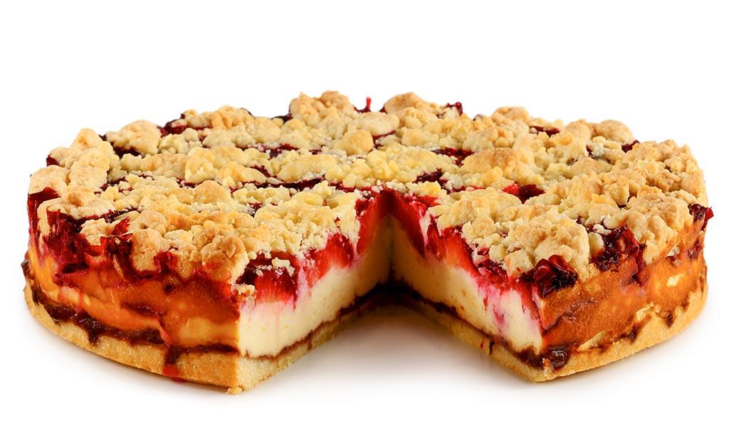 Kuchen P: Pflaumen Käse Kuchen Mit Streuseln Rezept