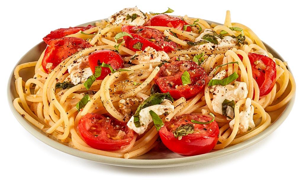 Spaghetti Tomato Mozzarella