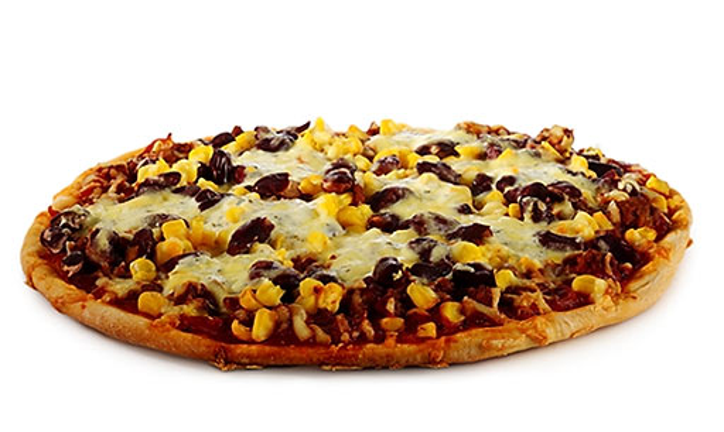 Rezept Drucken Schnelle Tex Mex Pizza