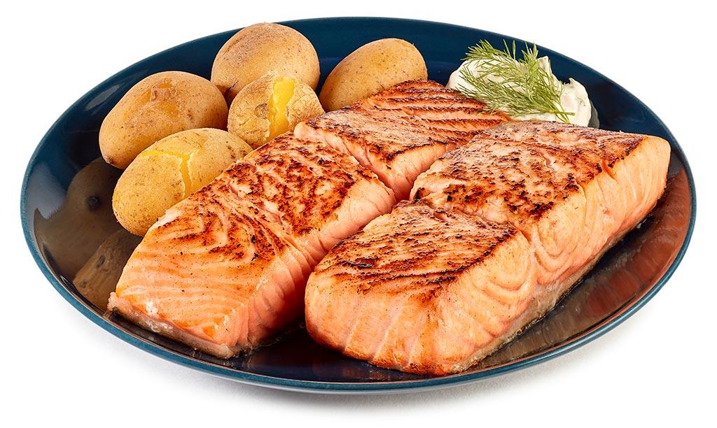 Swedish salmon