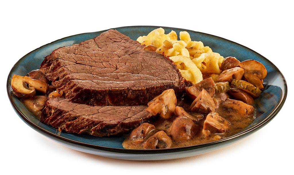 Beef roast Stroganoff
