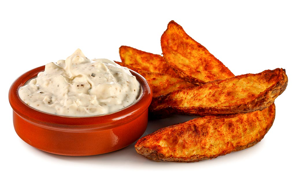 Country Potatoes & Blue Cheese Dip