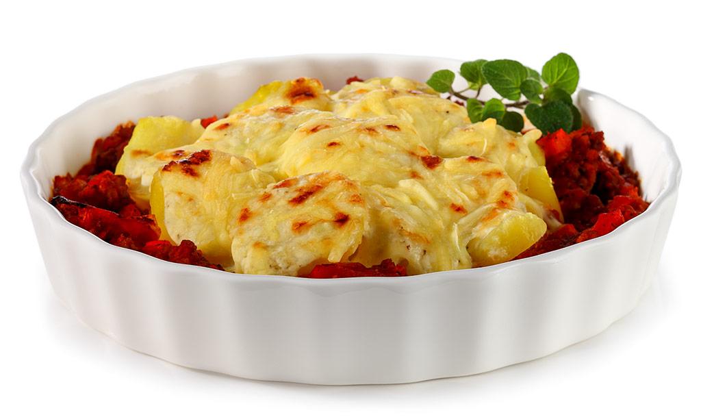 Potato Gratin Bolognese