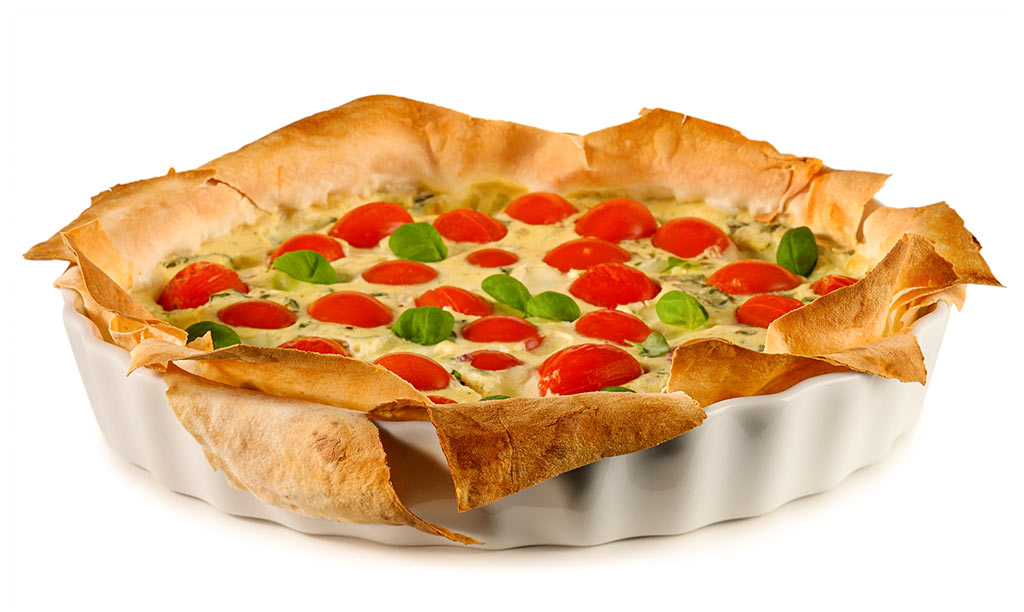 rezept drucken tomate mozzarella quiche. Black Bedroom Furniture Sets. Home Design Ideas
