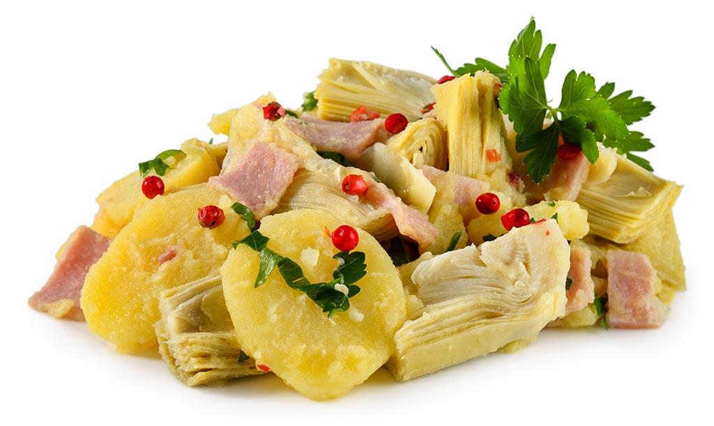 Artichokes Potato Salad