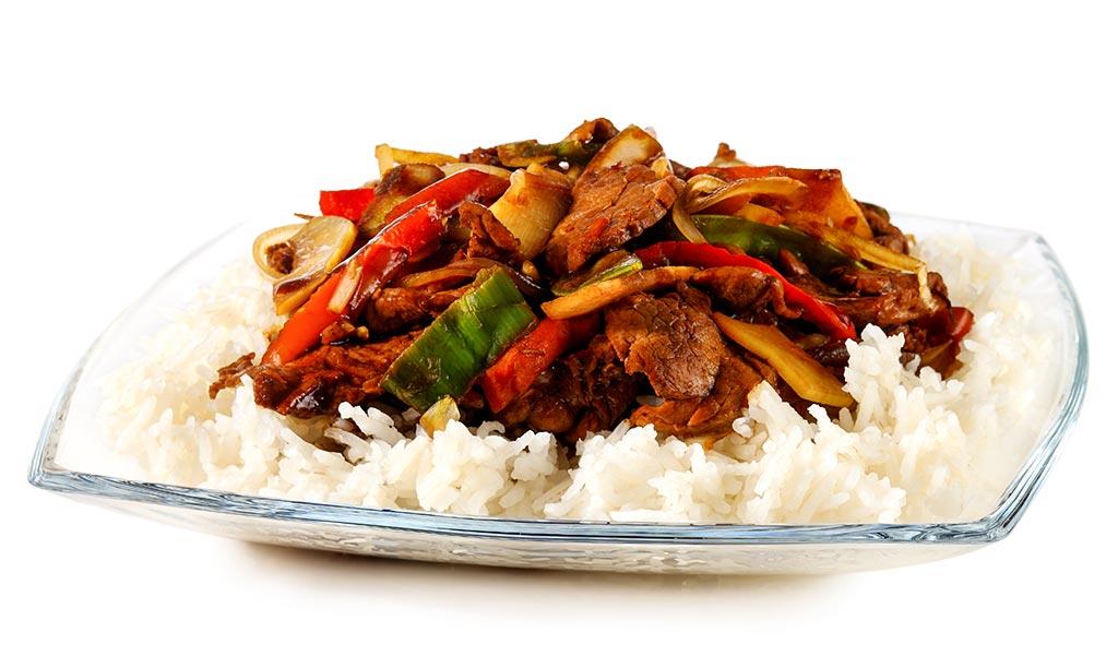Chop Suey with pork fillet