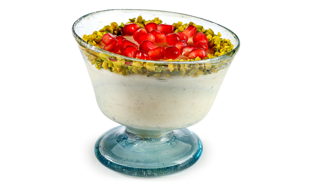 Arab Almond Pudding