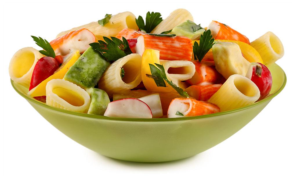 Avocado Surimi Noodle Salad