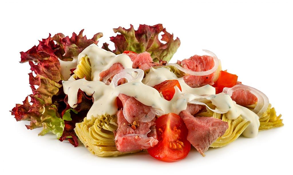 Artichokes Roast beef Meat Salad