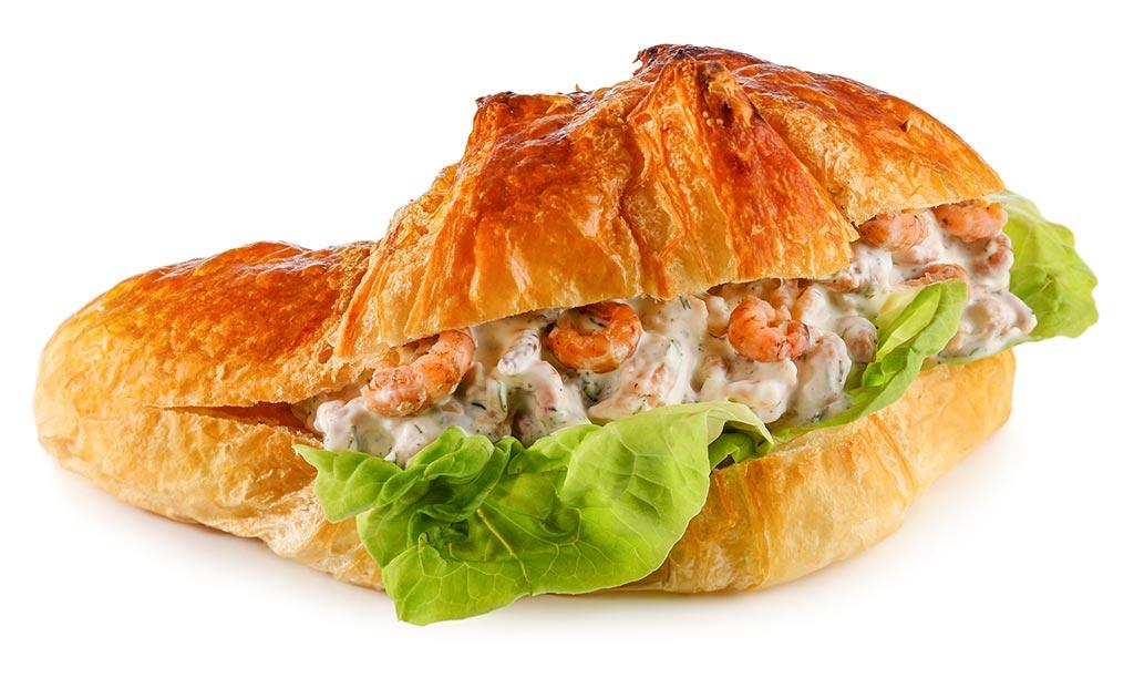 rezept drucken croissant mit krabben salat. Black Bedroom Furniture Sets. Home Design Ideas
