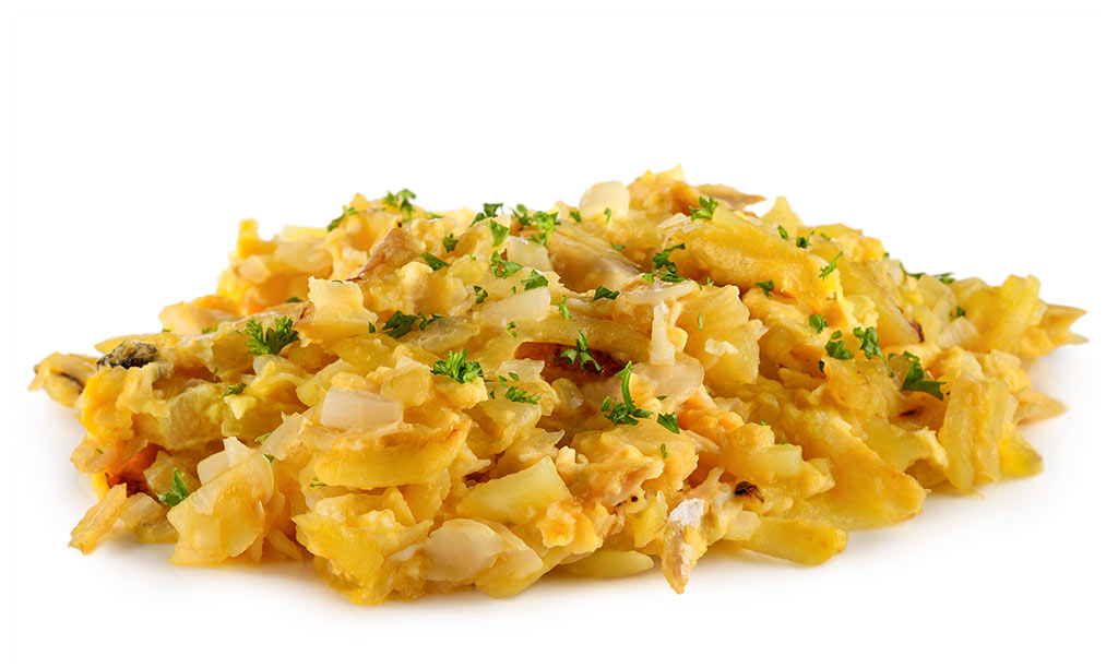 Bacalhau Bras - Stock fish