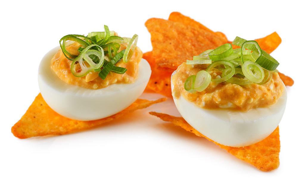 Rezept drucken gef llte senf eier - Eier kochen dauer ...