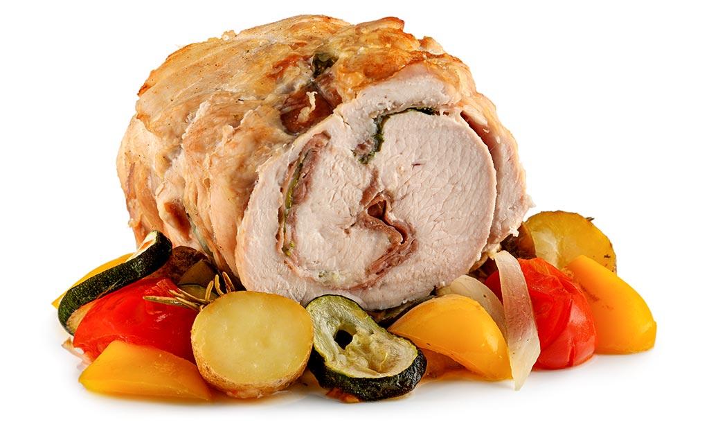 Italian turkey roll roast