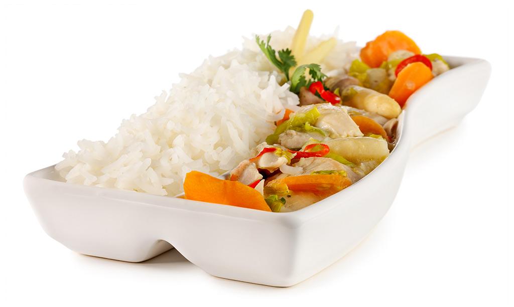 Asian Chicken Fricassee