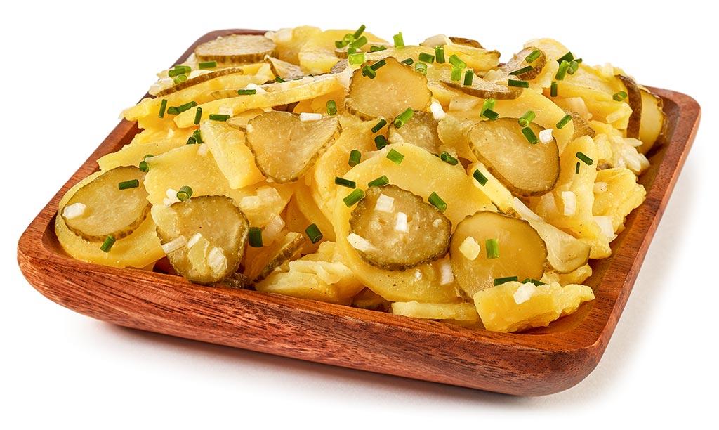 Kartoffel Salat ohne Mayonnaise