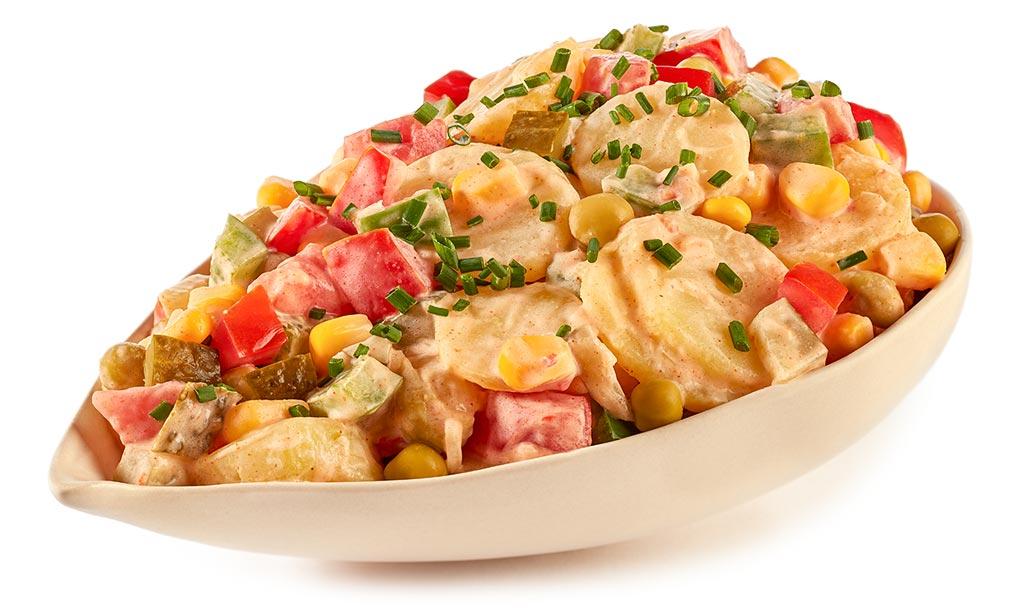 Potato salad with mayonnaise