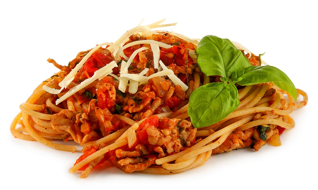 Wholemeal Spaghetti Bolognese