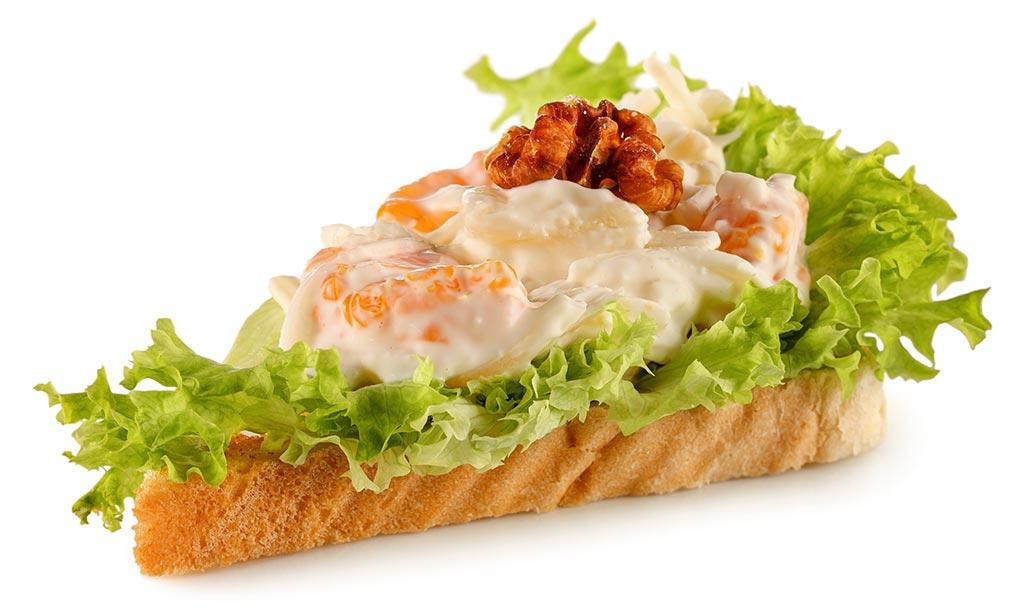 Waldorf Salad Toast