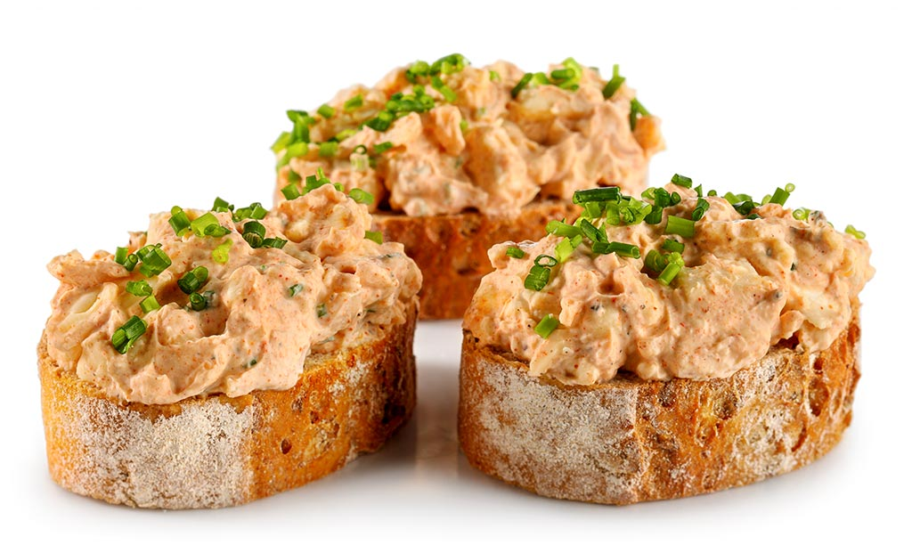 Wholemeal Canapes with Obatzter