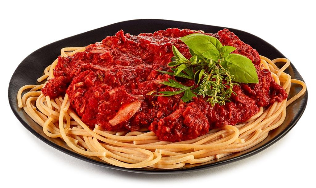 whole-grain spaghetti with tuna