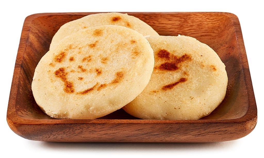 Arepas flat bread