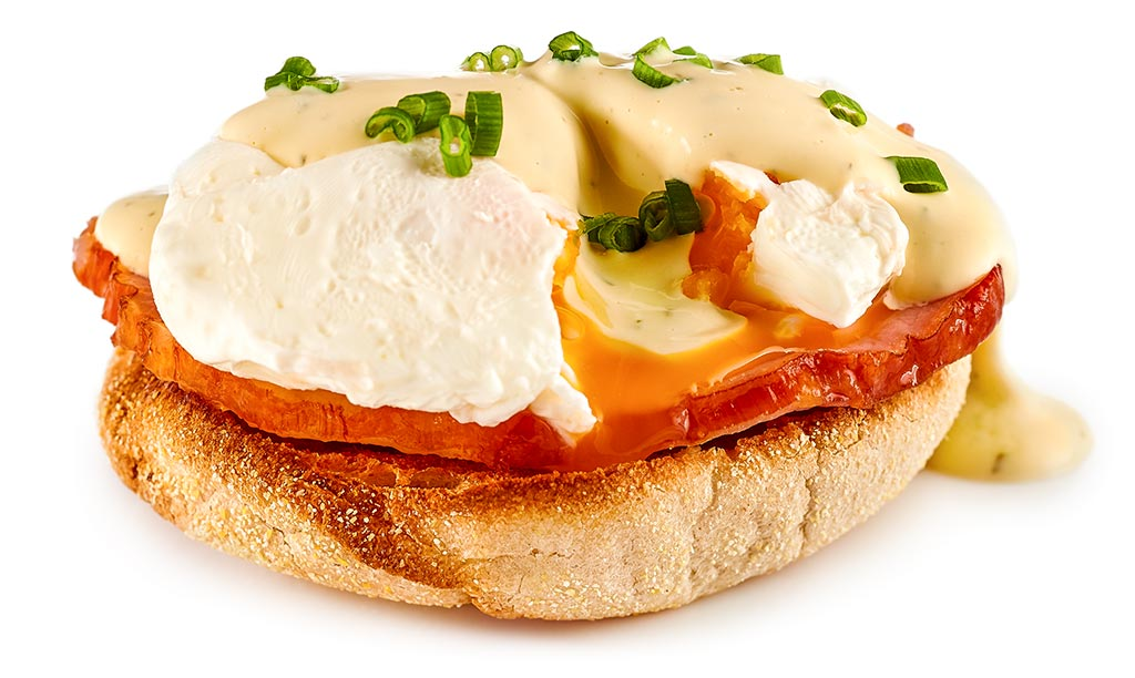 Benedikt eggs with Bearnaise sauce