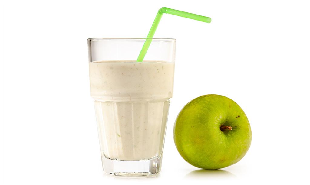 Apple Oat Milk Shake