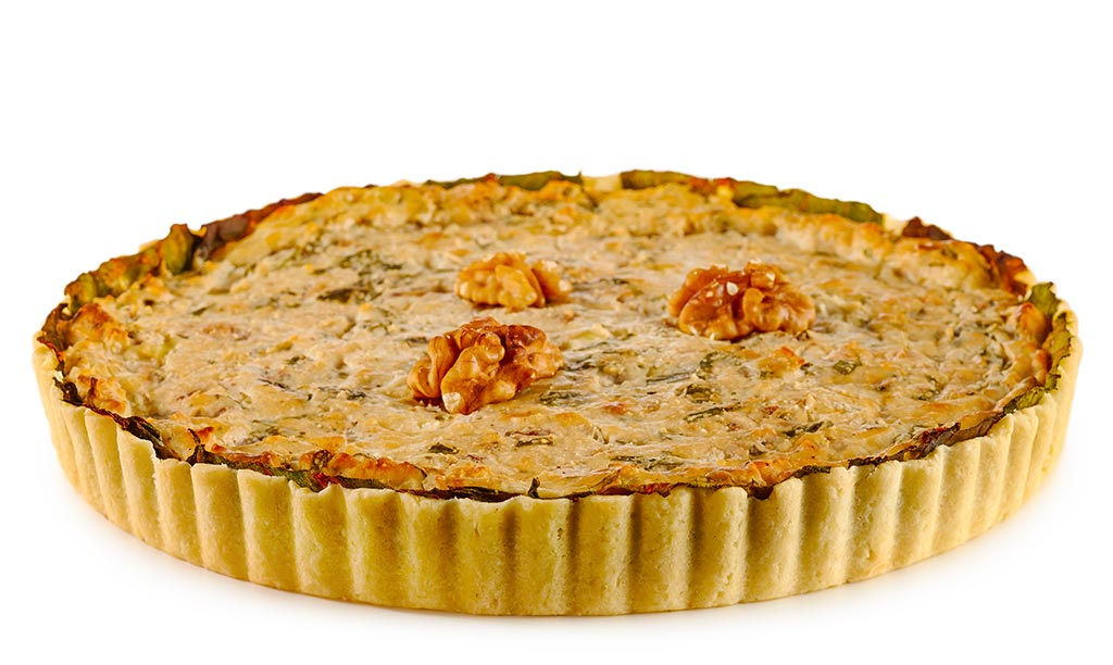 Mangold Cheese Quiche