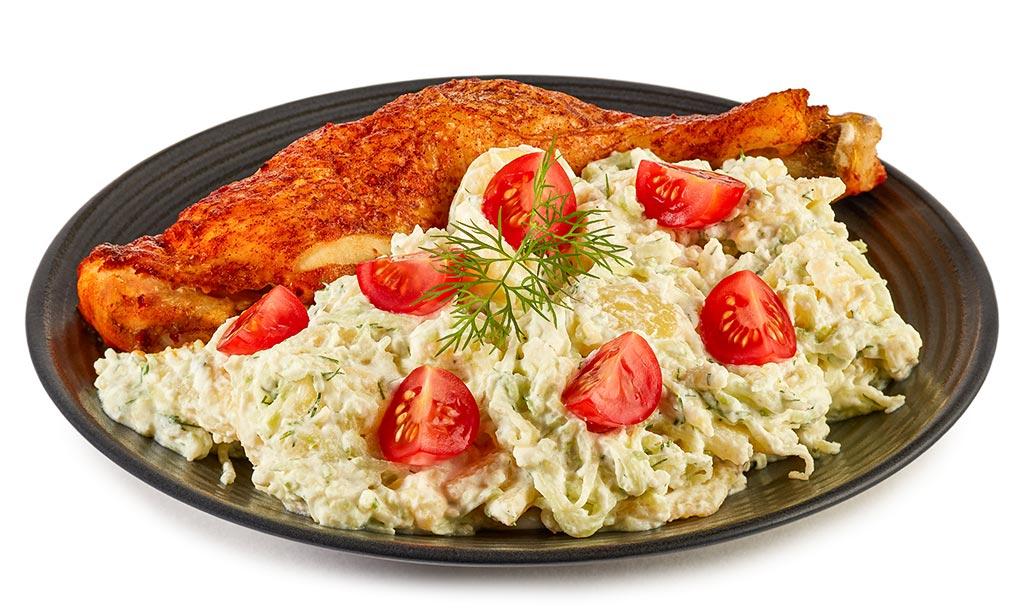 Chicken with Tzatziki Potato Salad