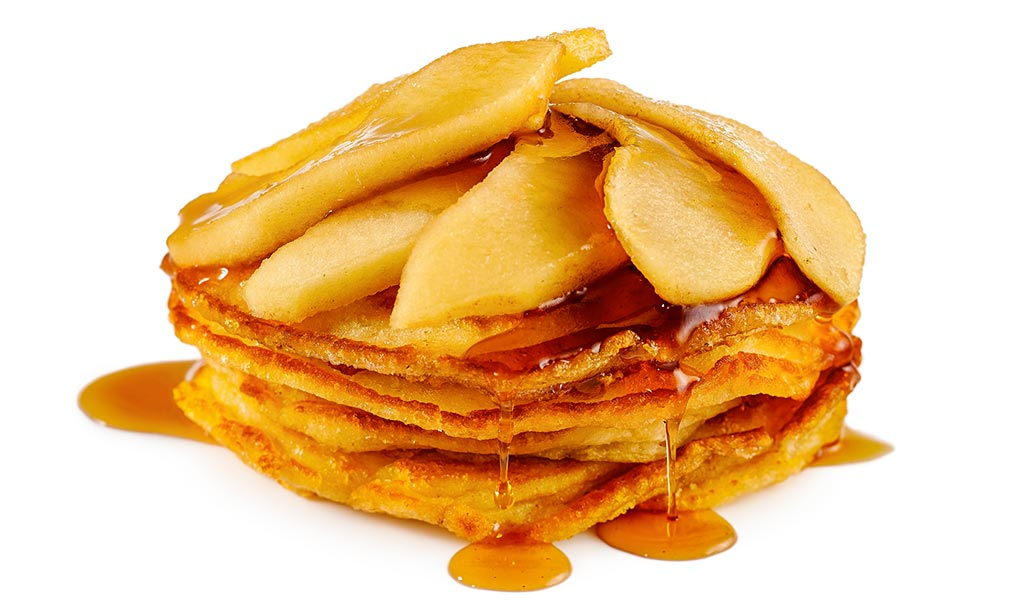 Canadian Apple Pancakes