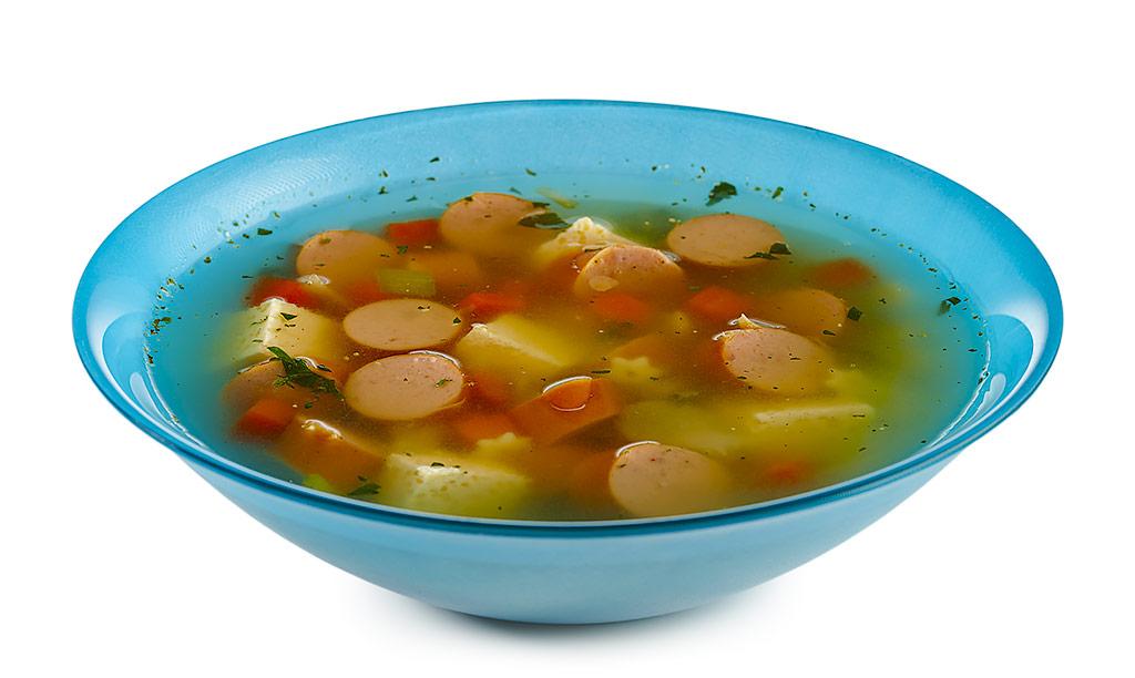 Rezept drucken w rstchen suppe mit eier stich - Eier kochen dauer ...
