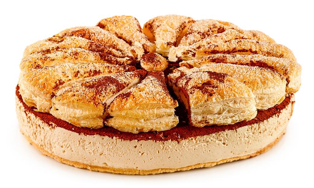Tiramisu Friesian Cake