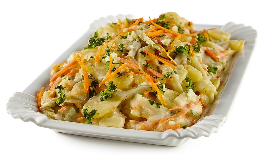 Carrots Potato Salad