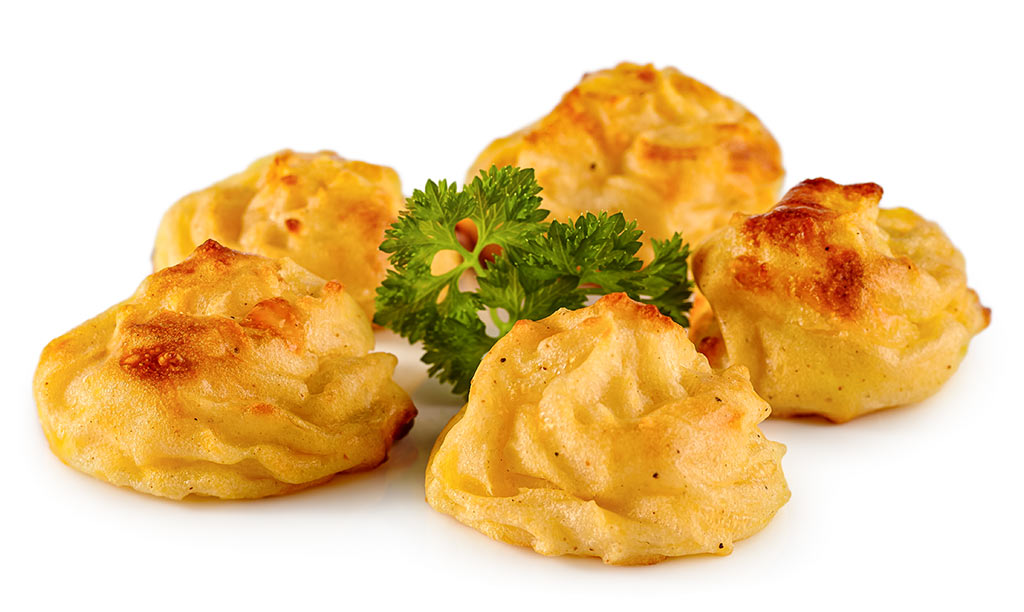 Duchess Potatoes with Cheese