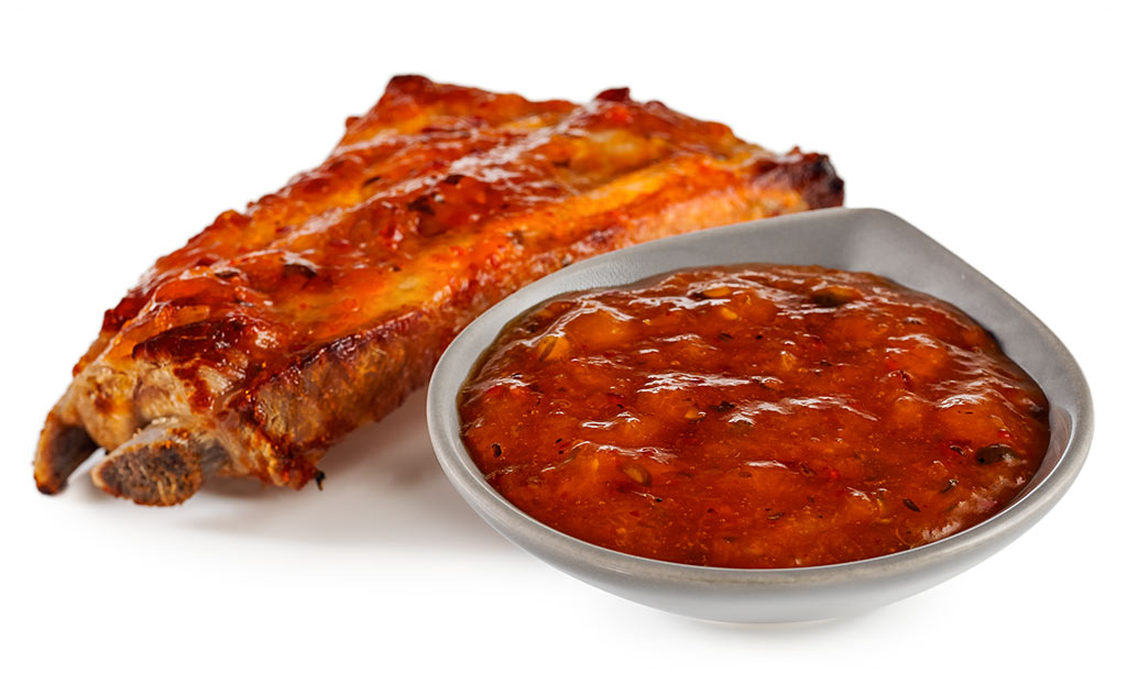 Apricot grill sauce for spare ribs