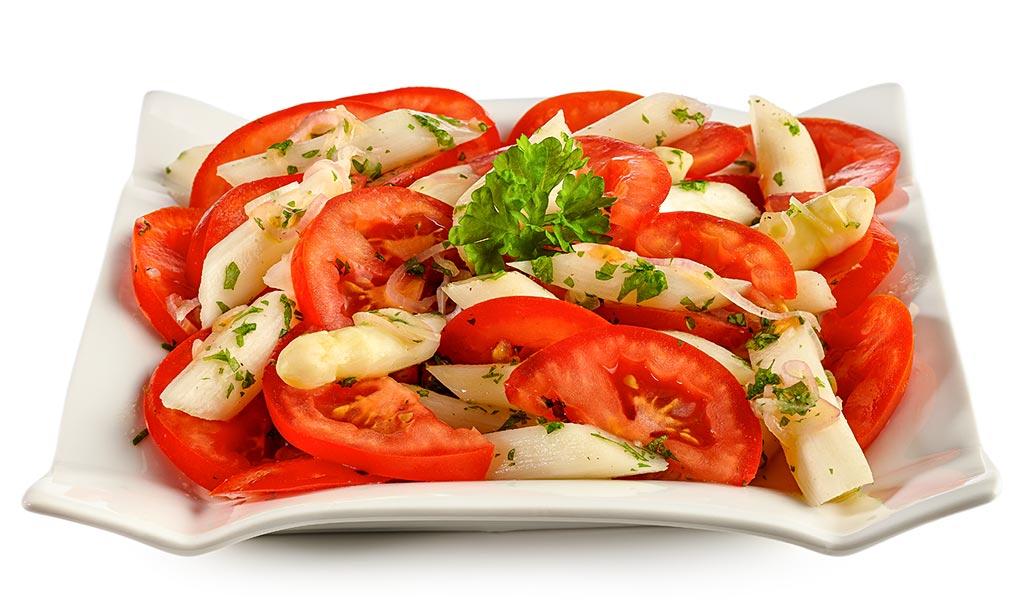 rezept drucken spargel tomaten salat. Black Bedroom Furniture Sets. Home Design Ideas