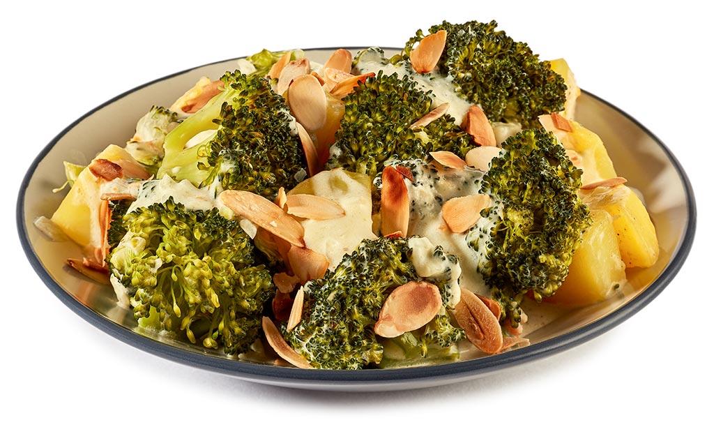 Broccoli cream potatoes