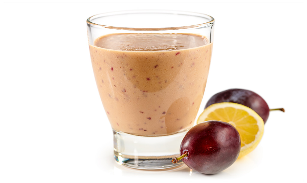 Plums Smoothie