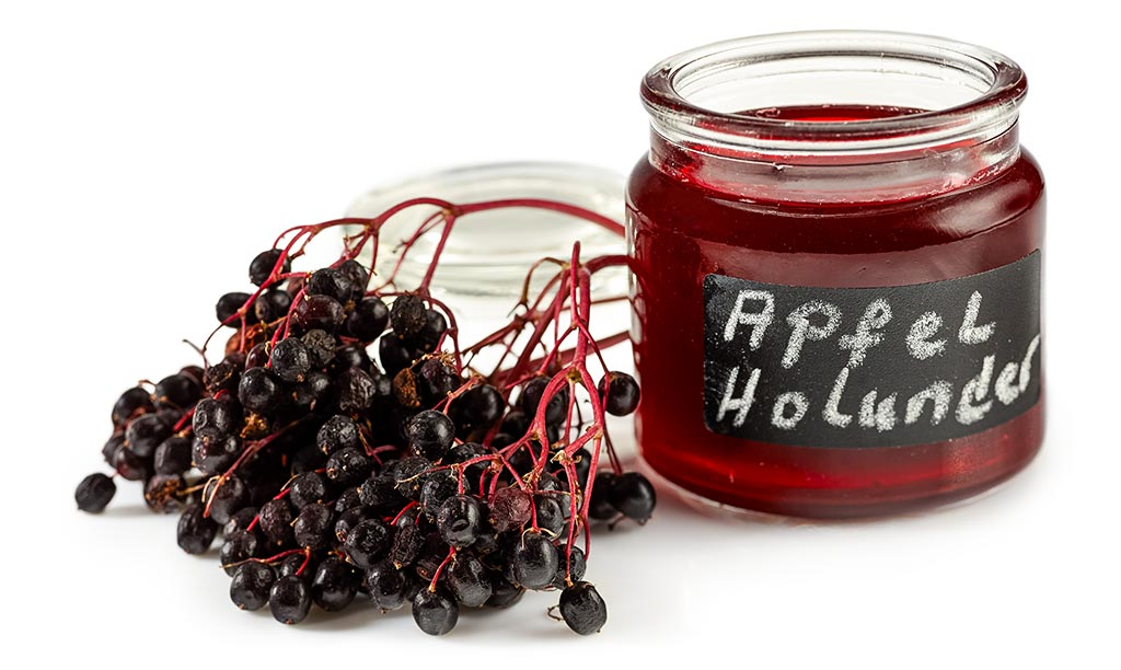 Apple elderberry jelly