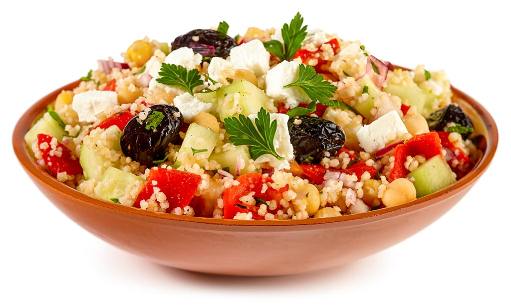 rezept drucken griechischer couscous salat mit feta. Black Bedroom Furniture Sets. Home Design Ideas