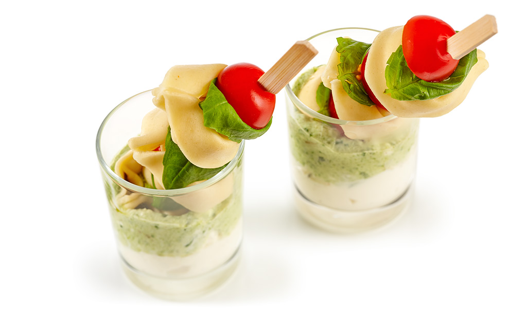 rezept drucken party tortellini spie e mit pesto. Black Bedroom Furniture Sets. Home Design Ideas