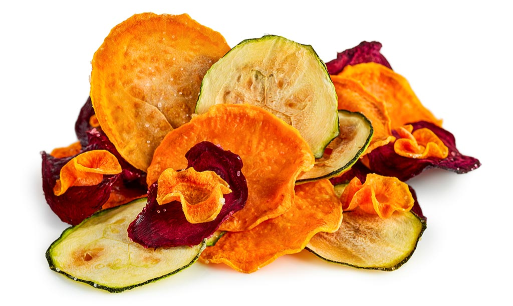 Gemüse Chips