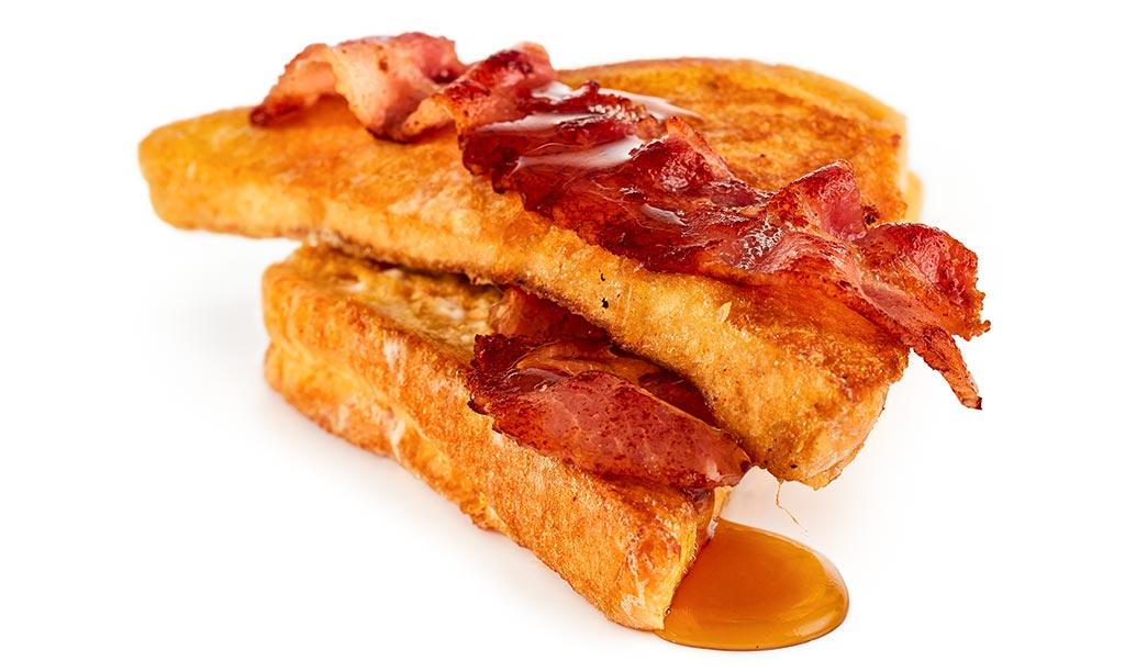 french toast bacon rezept. Black Bedroom Furniture Sets. Home Design Ideas
