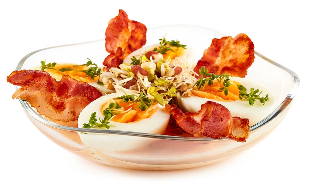 Rezept drucken eier salat mit french dressing - Eier hart kochen dauer ...